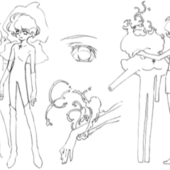 Clear production sketches.