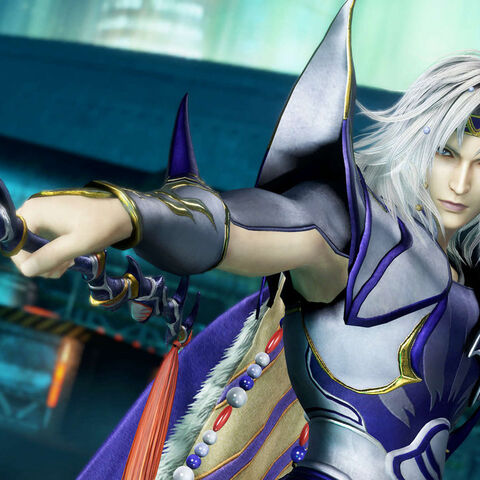 Cecil in <i>Dissidia Final Fantasy</i>.