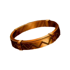 Bronze Bangle in <i><a href=