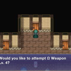 Ω Weapon's Door.