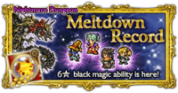FFRK Meltdown Record Nightmare