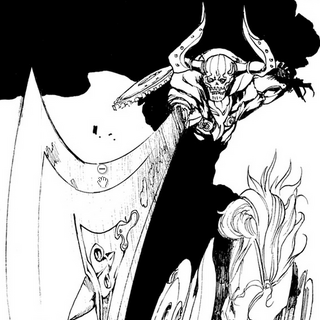 Odin in the manga.