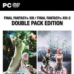 Pacote duplo de <i>Final Fantasy XIII+Final Fantasy XIII-2</i> (PC) na Europa; 2015.