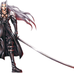 Sephiroth full art finished.