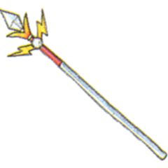 Concept art of Thunder Spear from <i><a href=