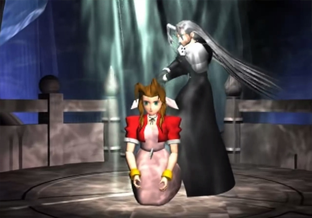 death of Aerith from Final Fantasy VII
