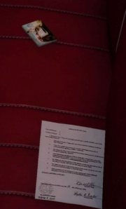 Document in Ardyn's car from FFXV