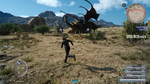 Dread Behemoth and Tyraneant Timed Quest in FFXV