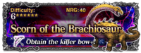 FFBE Scorn of the Brachiosaur