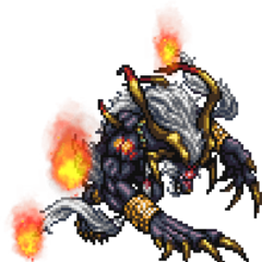 <i>Final Fantasy X-2</i> boss sprite.
