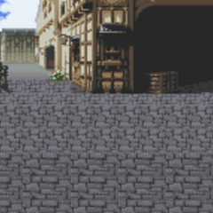 Battle background (town) (GBA).