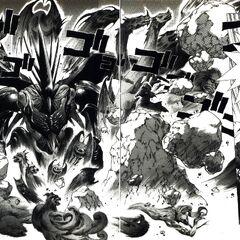 Introdução de Xande com vários monstros.