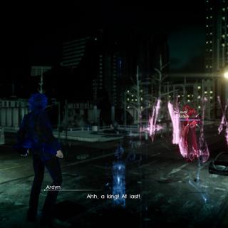 Ardyn in the main game.