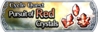 DFFOO Cycle Quest Red banner GLS