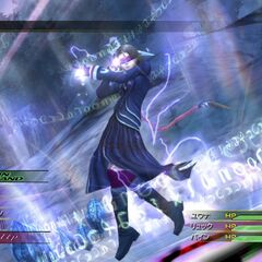 Yuna as a Psychic in <i>Final Fantasy X HD Remaster</i>.