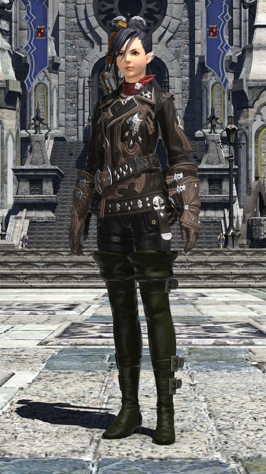 FF14 Final Fantasy Thancred Y/'shtola Cosplay Shoes Long Boots