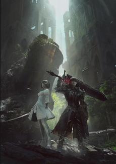 FFXIV YoRHa Dark Apocalypse key visual