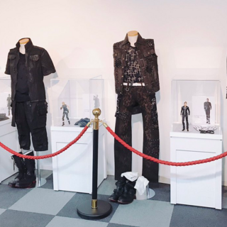 The party's attires on display in Yokohama Doll Museum.