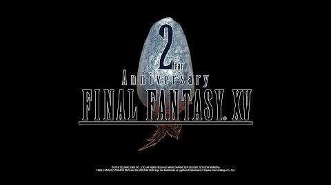 FINAL FANTASY XV 2nd Anniversary English Voice Actors Thank You Message-0