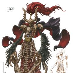 Concept artwork of Lich.