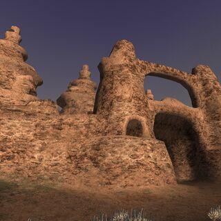 The Castle Oztroja facade.