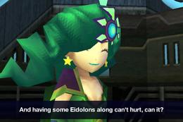 Rydia before final battle ios