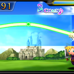 Saronia Castle in <i>Theatrhythm</i>.
