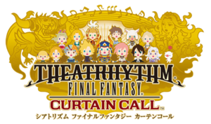 Theatrhythm Final Fantasy Curtain Call Logo