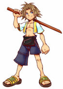 Tidus Kingdom Hearts