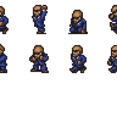 Set of Rude's sprites.