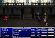FFVII Silence status