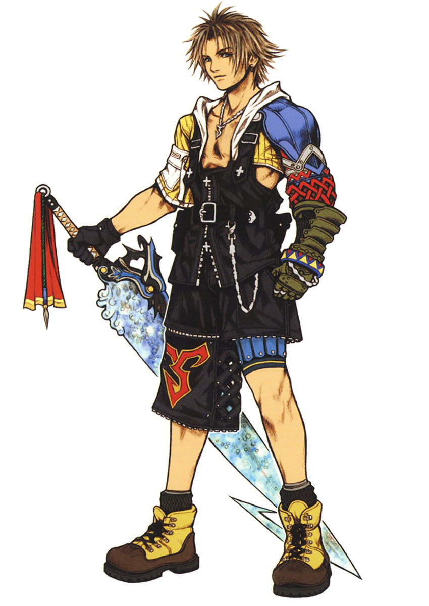 Tidus final fantasy wiki fandom powered by wikia for Pictures of designs