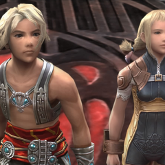 Vaan and Penelo on <a href=