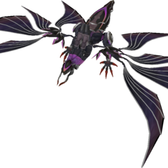 In-game render of Bahamut in gestalt mode.