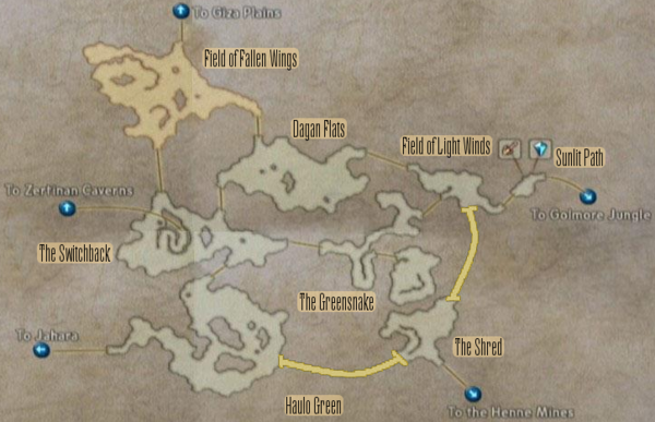 FF12 Map - Ozmone Plain