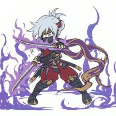 Miyuki's sprite concept artwork.