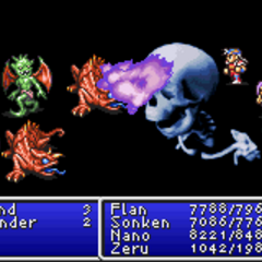 Death1 in <i>Final Fantasy II</i> (GBA).