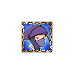 Hume Ninja icon in <i>Final Fantasy Tactics S</i>.
