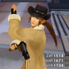 Irvine in <i>Final Fantasy VIII Remastered</i>.