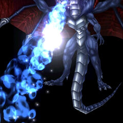 Bahamut unleashing Mega Flare.