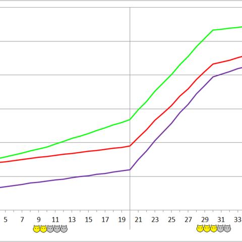 Kanna Kamuy development chart.