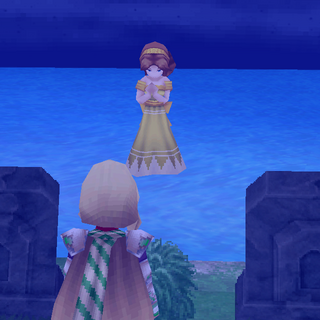 Anna's spirit in <i>The After Years</i> (iOS).