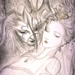 Arte de Seymour e Yuna feita por <a href=