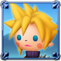 DFFNT Player Icon Cloud Strife TFF 001