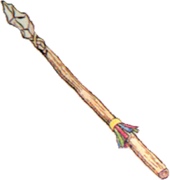 Demon Spear FFII Art