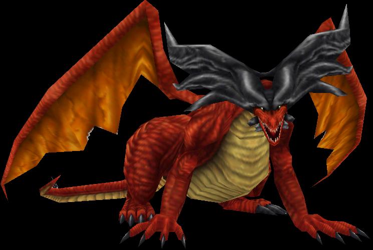Ruby Dragon Final Fantasy VIII