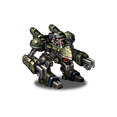 Magitek Armor A-type enemy sprite.