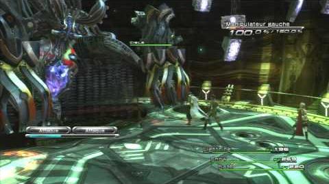 Final Fantasy XIII Combat contre Anima