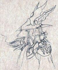 Freya Rough Sketch