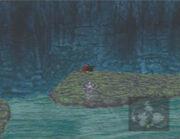 Hugemateria underwater location